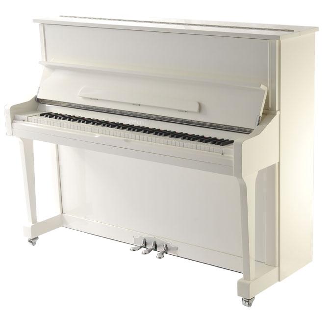 White Piano Piano type  uprightYamaha Upright Piano White